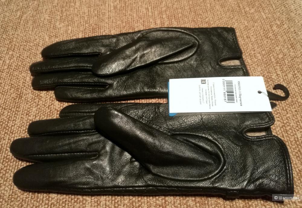 Перчатки VENERA кожа на шерсти, р. 6,5 -7