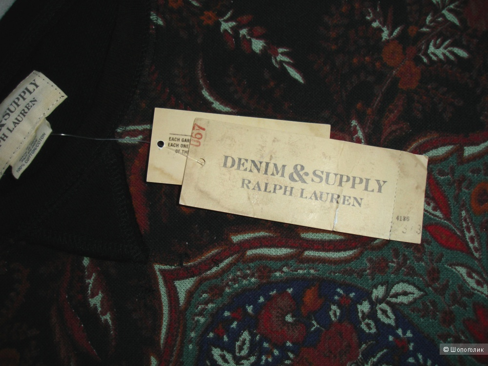 Свитшот Denim & Supply Ralph Lauren, размер S (рус 44-46)