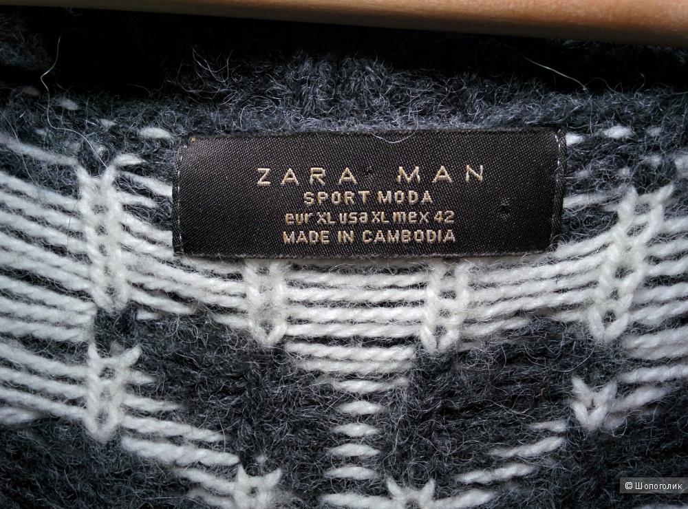 Кардиган шерстяной Zara Man размер XL