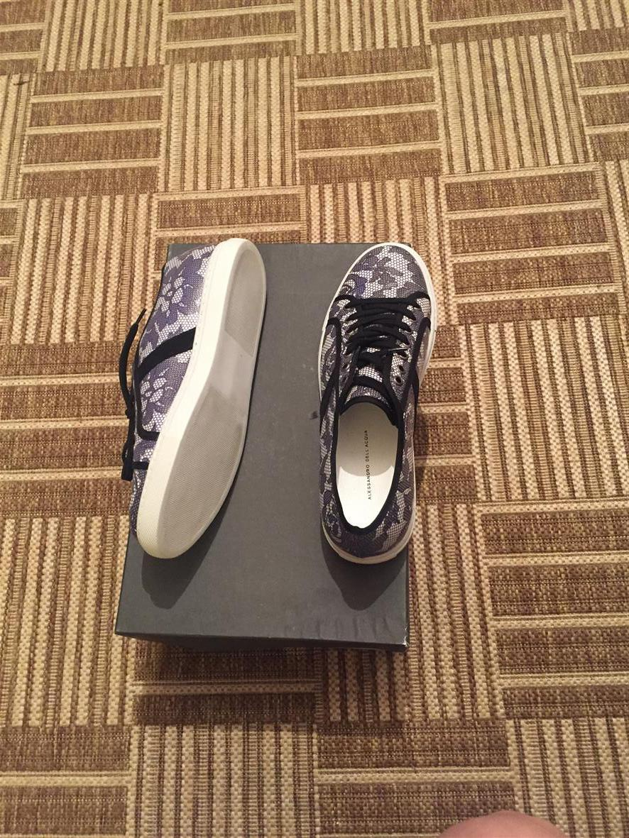 Женские низкие кеды, кроссовки ALESSANDRO DELL`ACQUA, размер 38