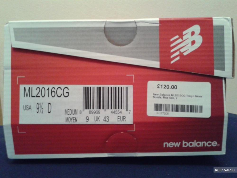 Кроссовки New Balance (US 9.5)