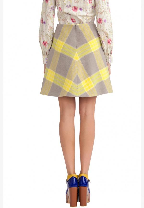Теплая юбка от Ксении Князевой 46 размер