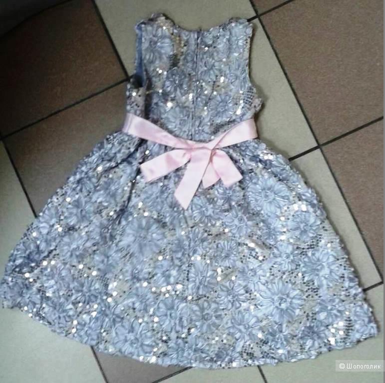 Нарядное платье Rare Eddition  для девочки 5-7 лет