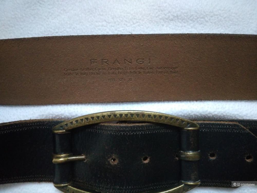 Кожаный ремень FRANGI M/L 32-38''