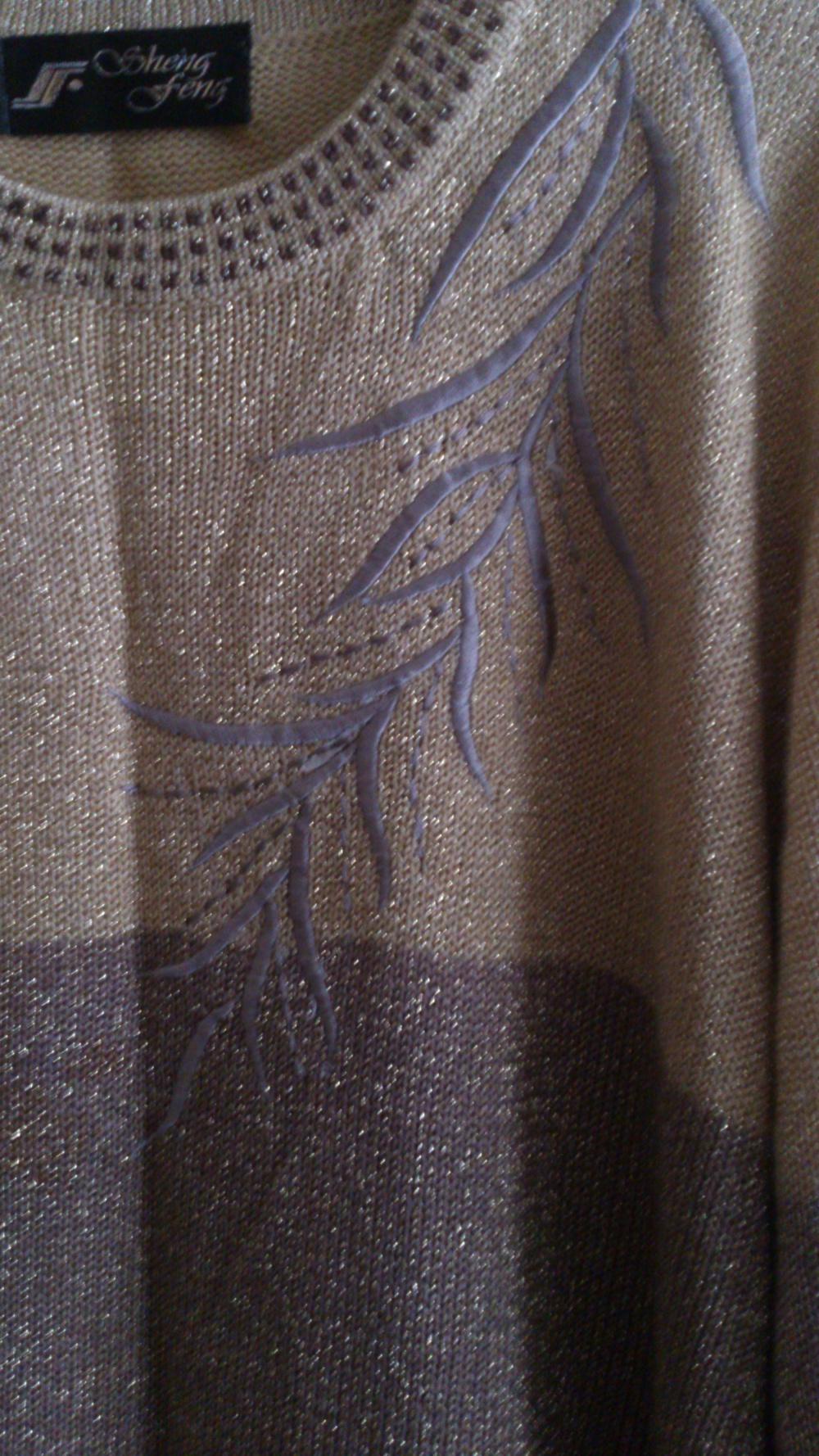 Кофта = туника Sheng feng, размер 50-56, Турция