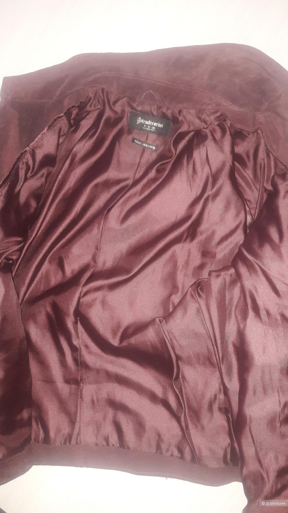 Куртка замшевая Stradivarius, S размер