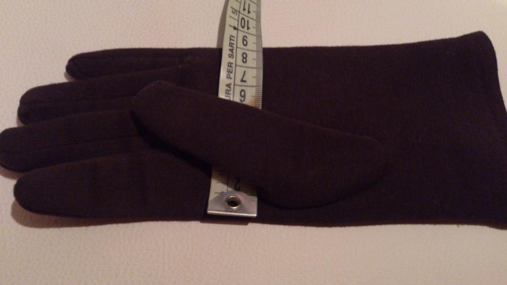 Перчатки  и митенки = комплект, размер 7