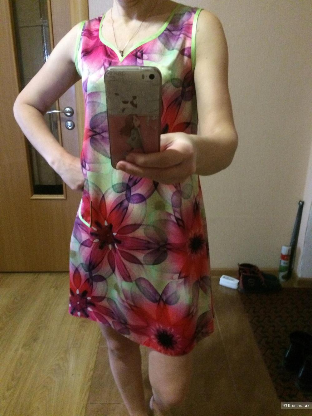 Платье, размер 44-46.