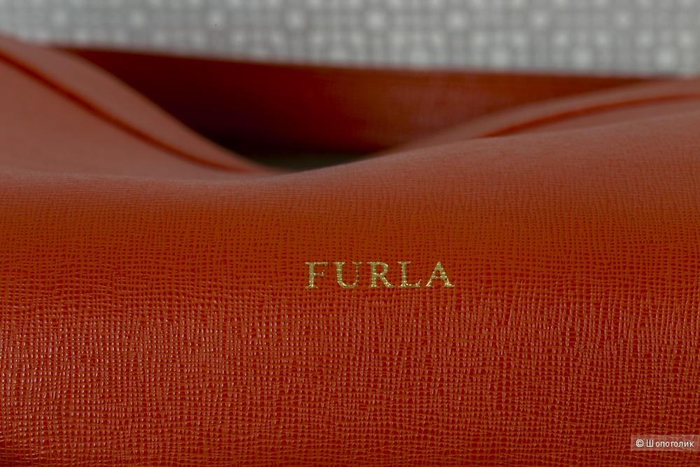 Сумка женская Furla, коралл, medium.
