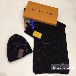 Шапка и Шарф Louis Vuitton