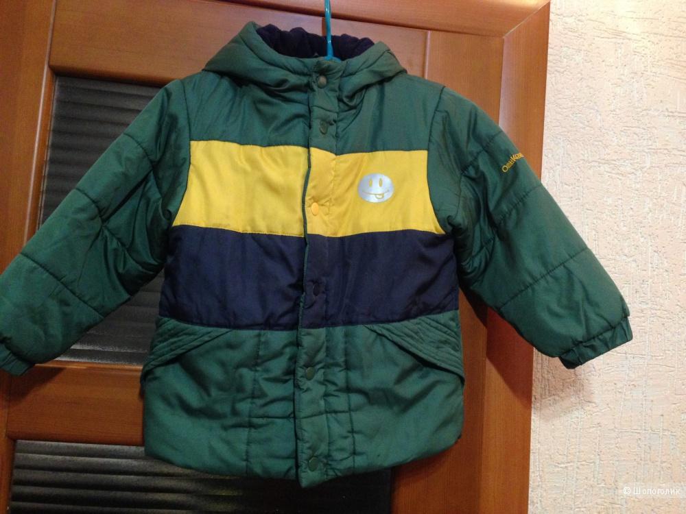 Утепленная куртка на мальчика OshKosh, р. 5-6 лет