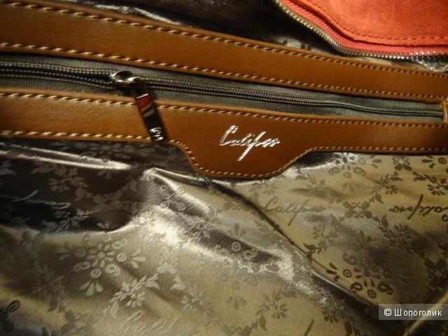 """Замшевая сумка-тоут """"Calipso"""""""
