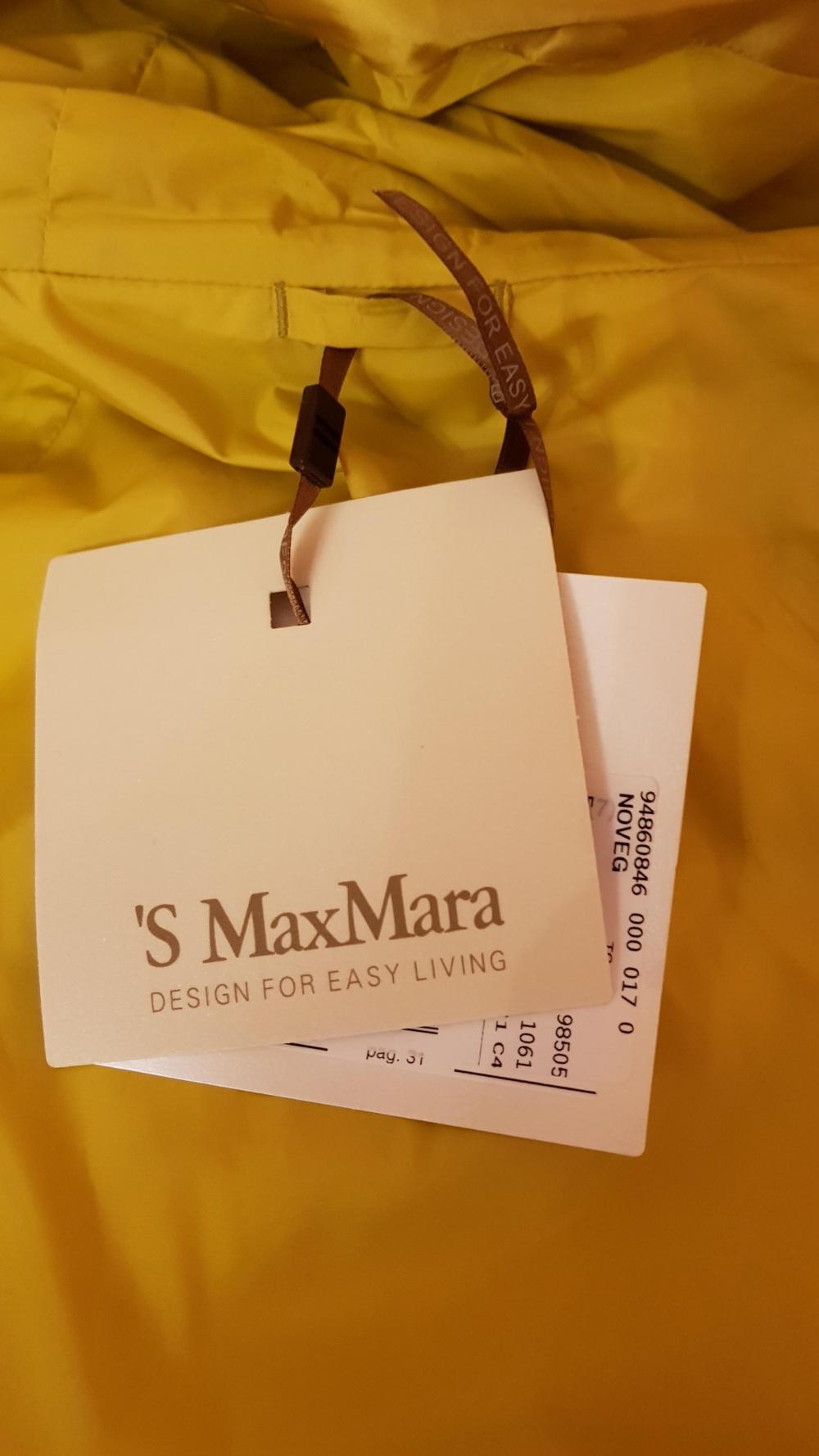 Пуховик, S Max Mara , 48 Ит. размер .