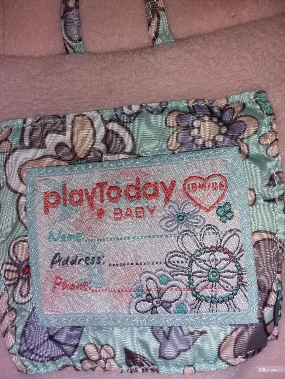 Куртка PlayToday, размер 86