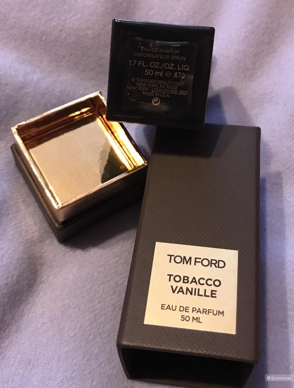 Парфюмированная вода Tom Ford Tobacco Vanille, 50 ml