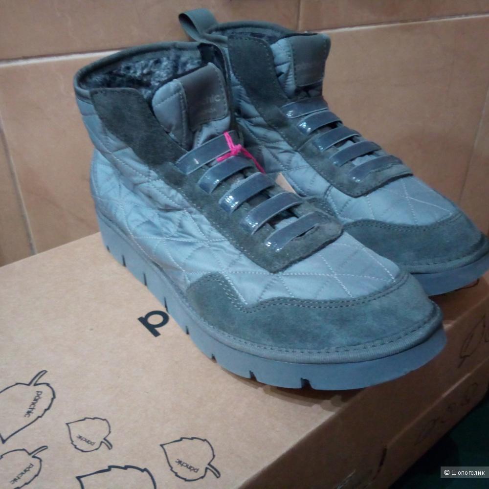 Кроссовки кеды на мутоне Panchic 37 размер