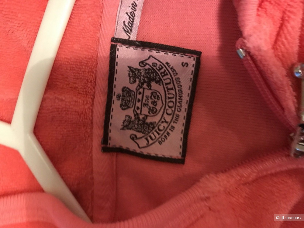 Велюровый костюм Juicy Couture, размер S