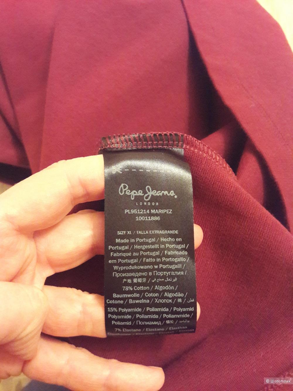 Pepe Jeans London: классическое платье, 48-50
