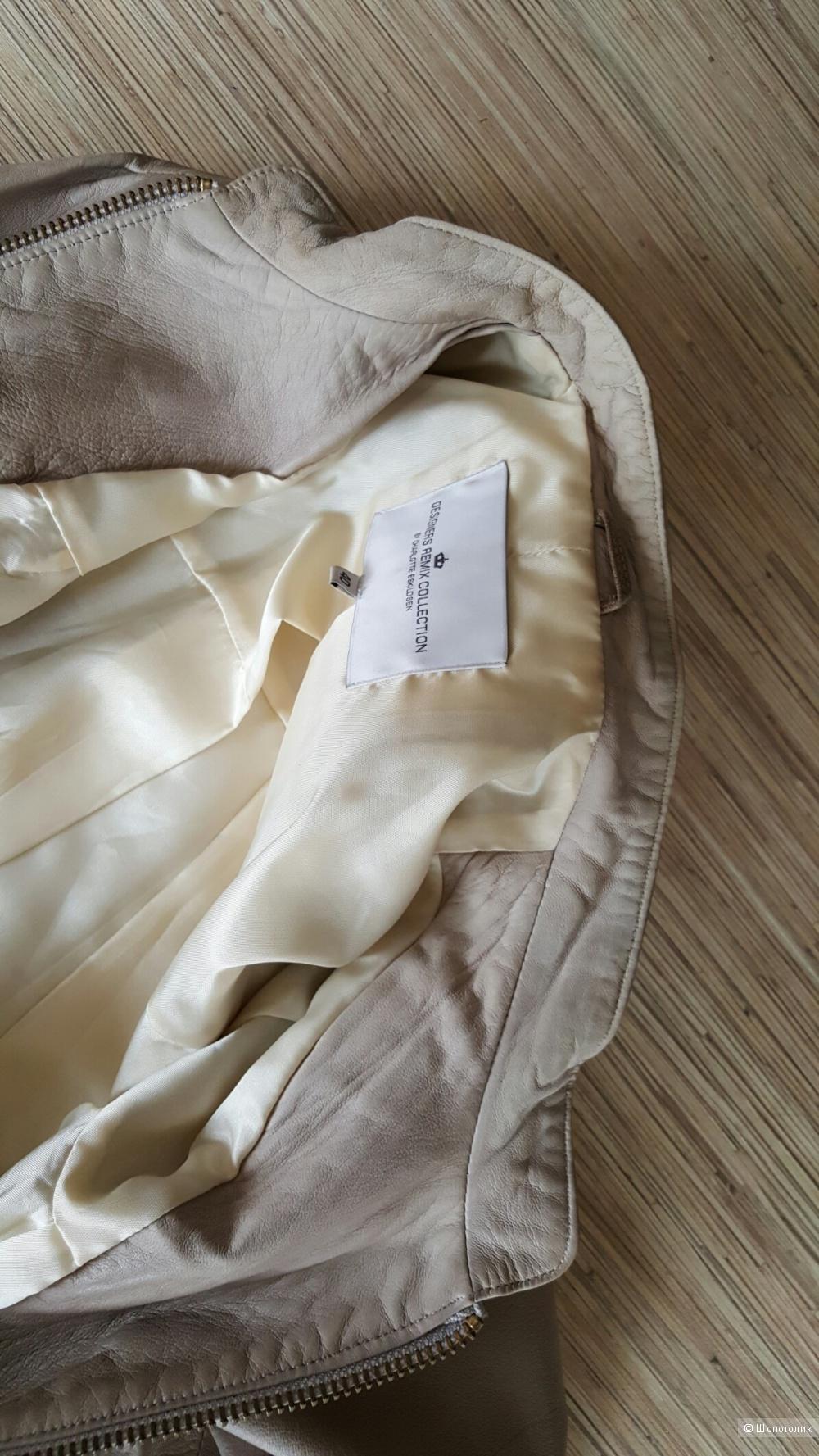 Куртка DESIGNERS REMIX COLLECTION BY CHARLOTTE ESKILDSEN.  P.44-46.