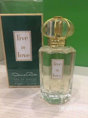 "Oscar de la Renta ""Live in Love"" 50 ml"