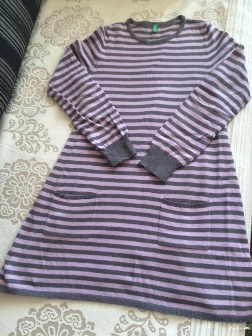 Платье для девочки 10-11 лет, BENETTON.