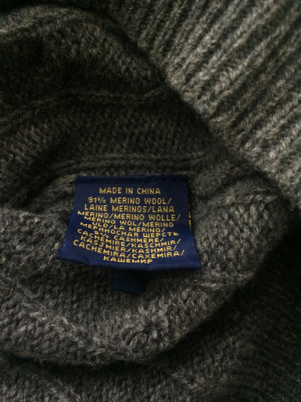 Cвитер Polo Ralph Lauren XL