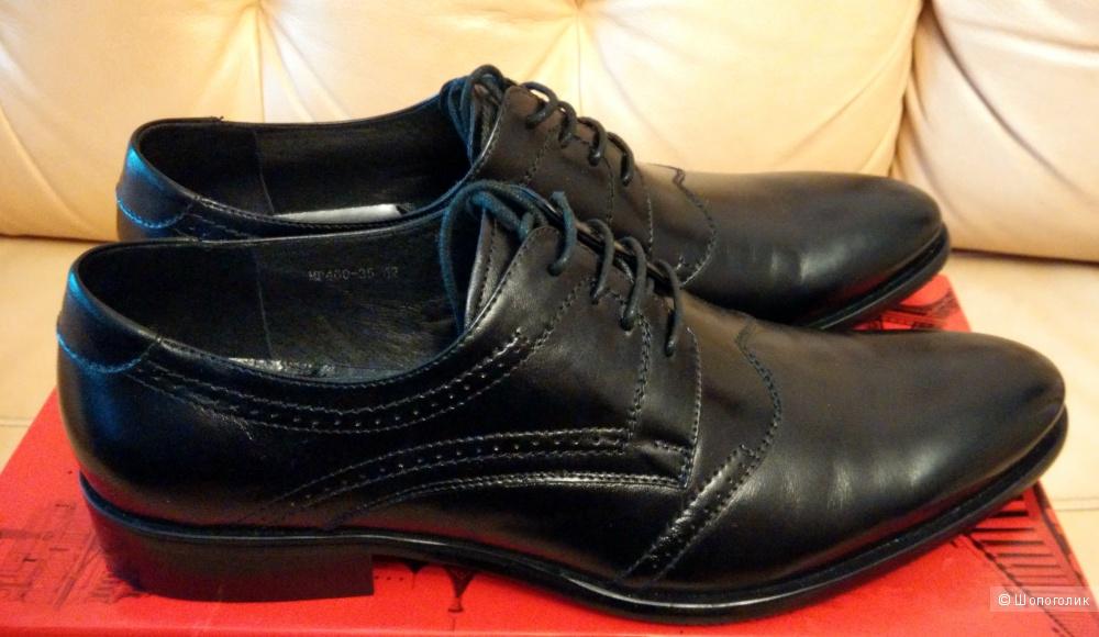 Мужские туфли Dino Ricci, размер 42.