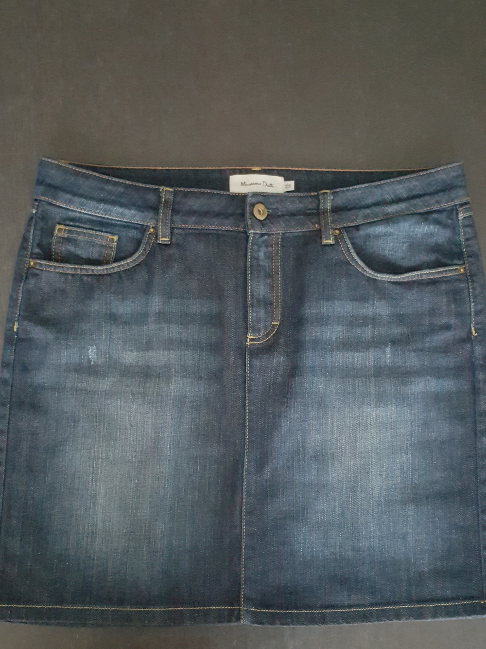 Юбка джинсовая Massimo Dutti, размер 48-50
