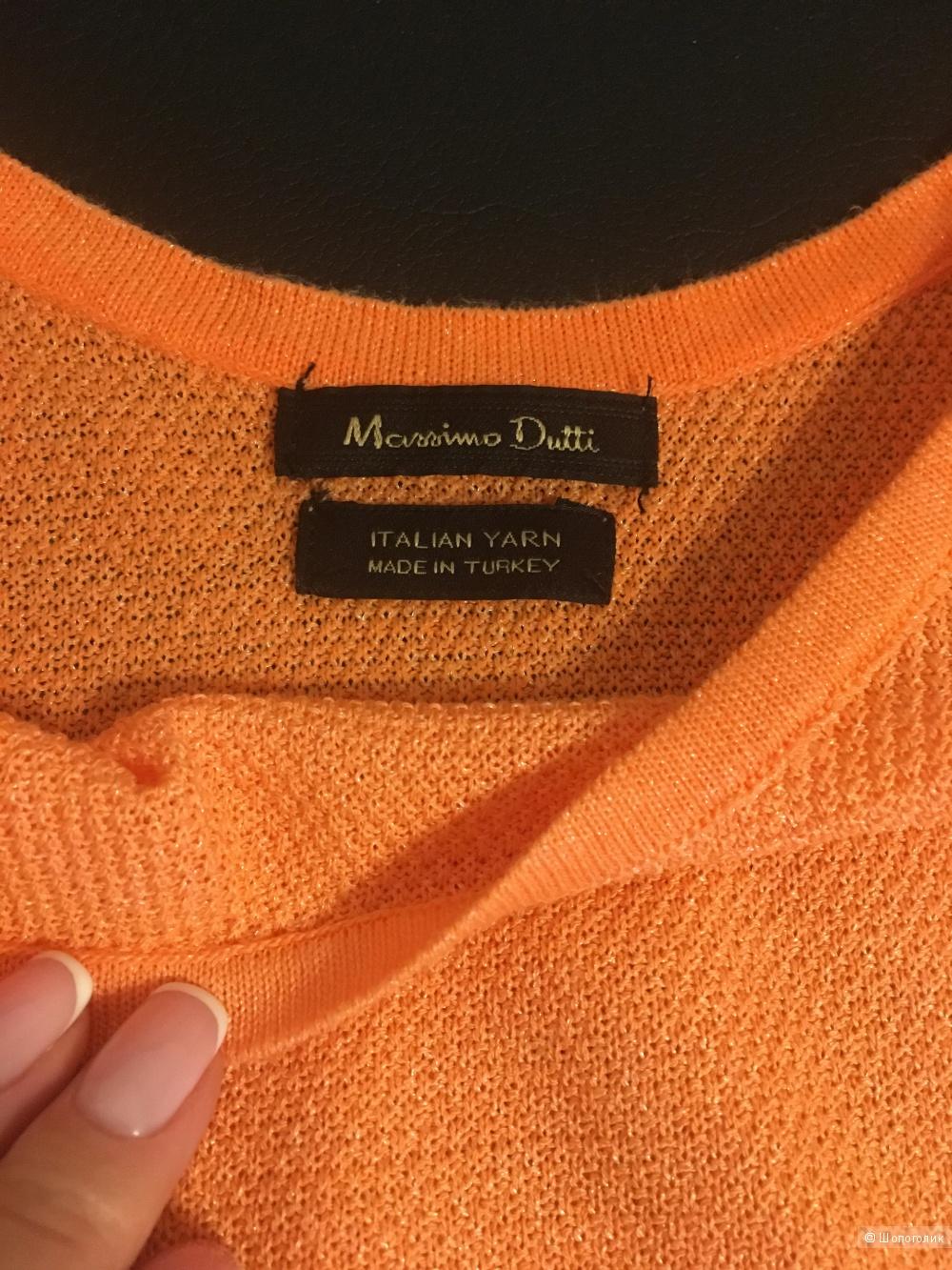 Джемпер, бренд Massimo dutti,  размер 36 (S) на российский 40-42-44