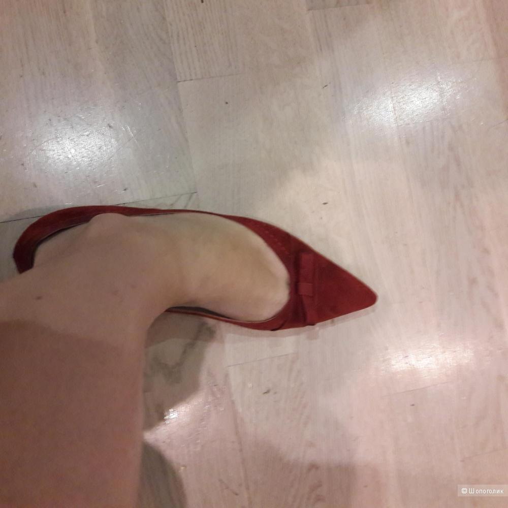 Кожаные туфли Peter Kaiser размер 7 eu