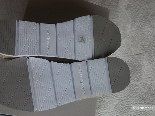 Эспадрильи от Calvin Klein Jeans на 38р
