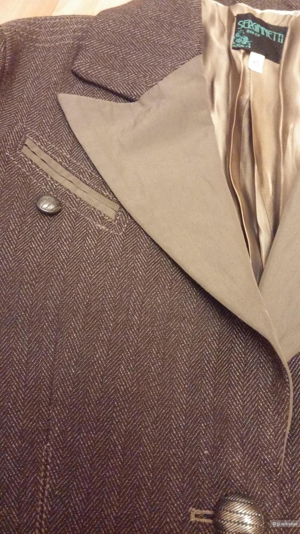 Пиджак Serginnetti 42 размера