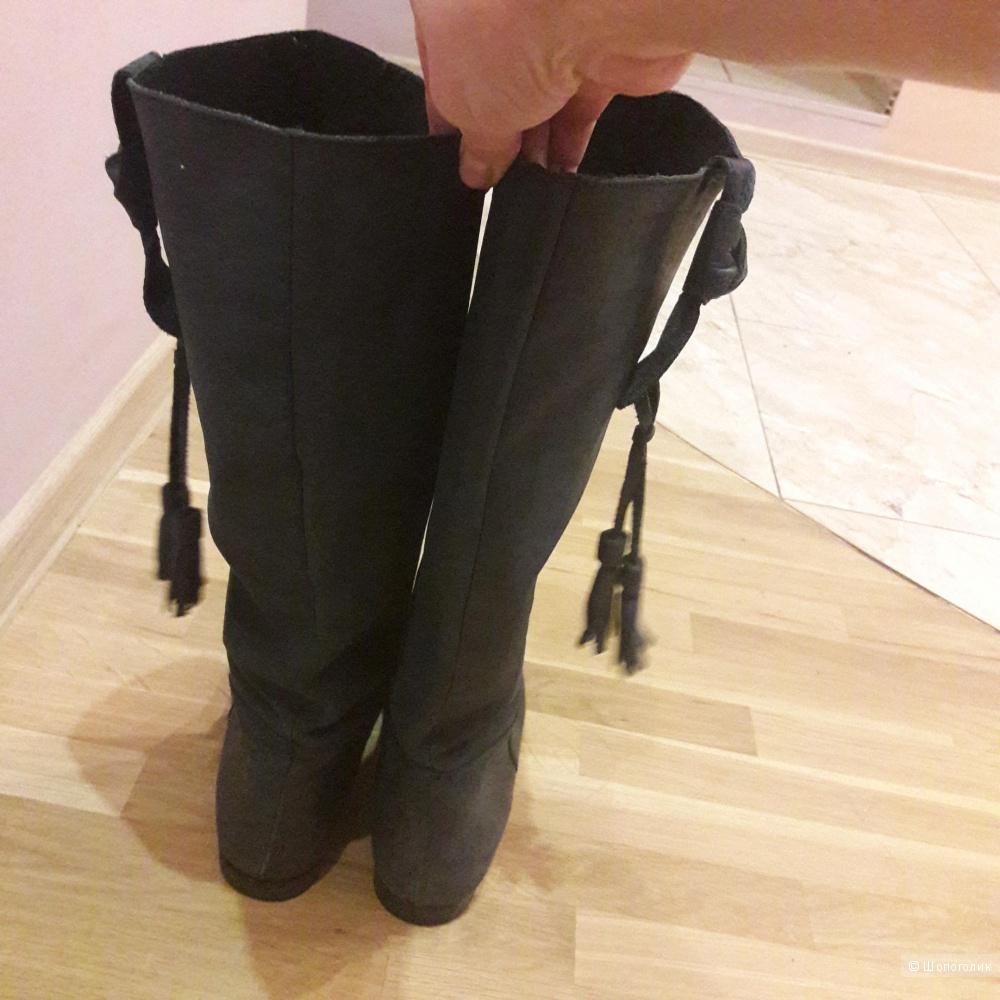 Кожаные сапоги RW 41 размера