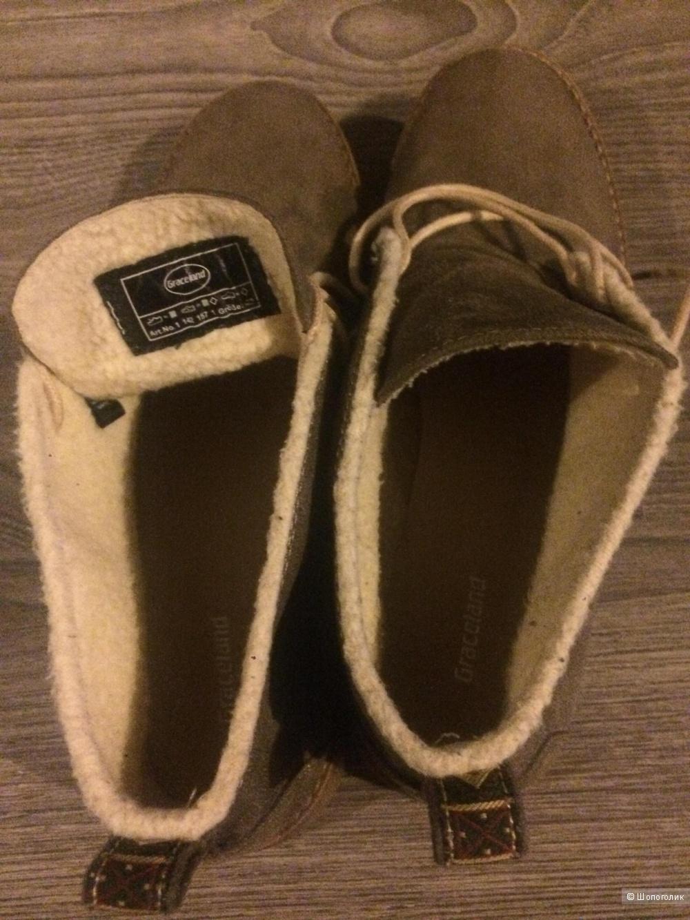 Ботинки мужские Graceland 41 размер