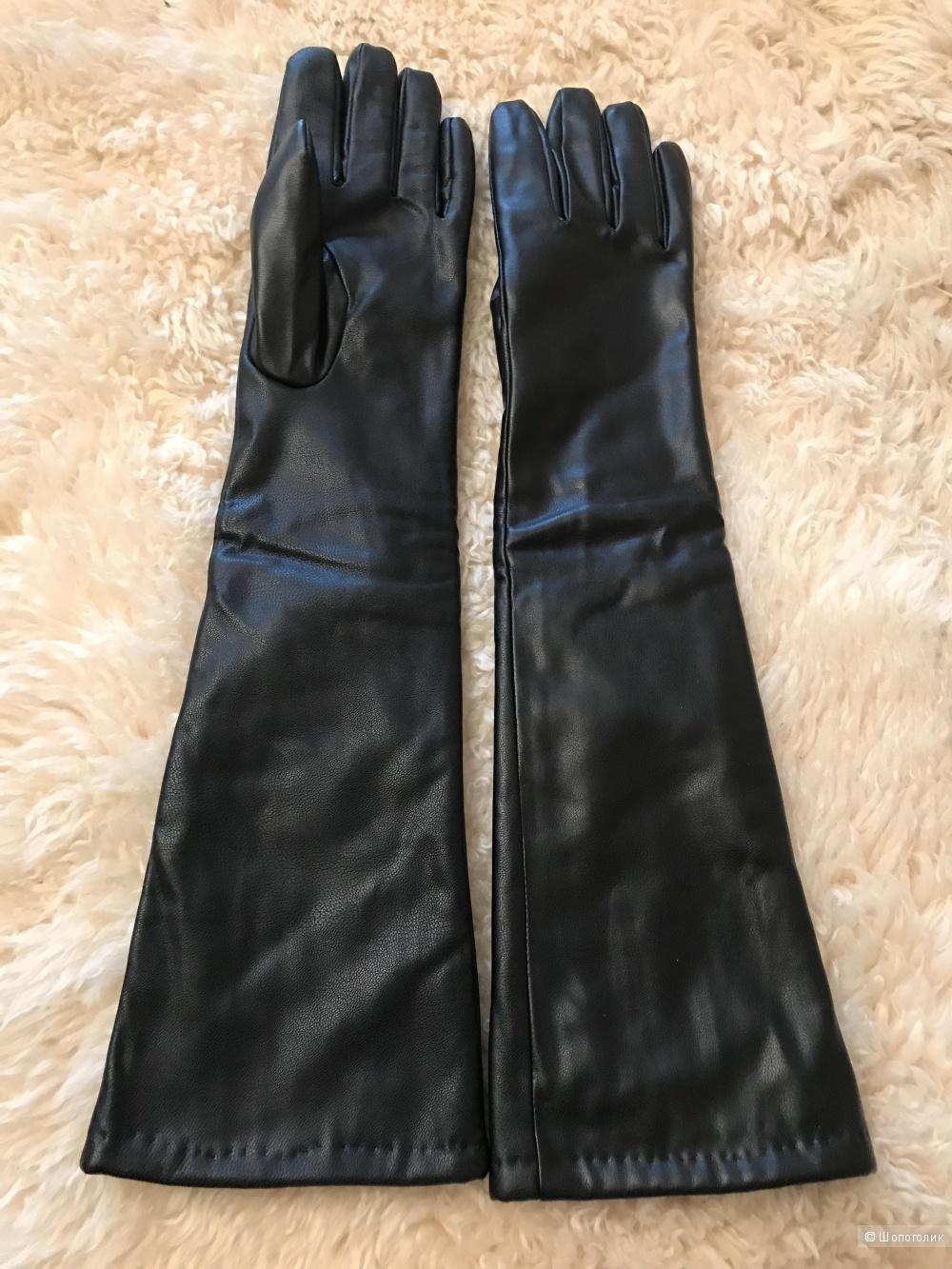 Перчатки LuMei Jia, кожанные, размер 8