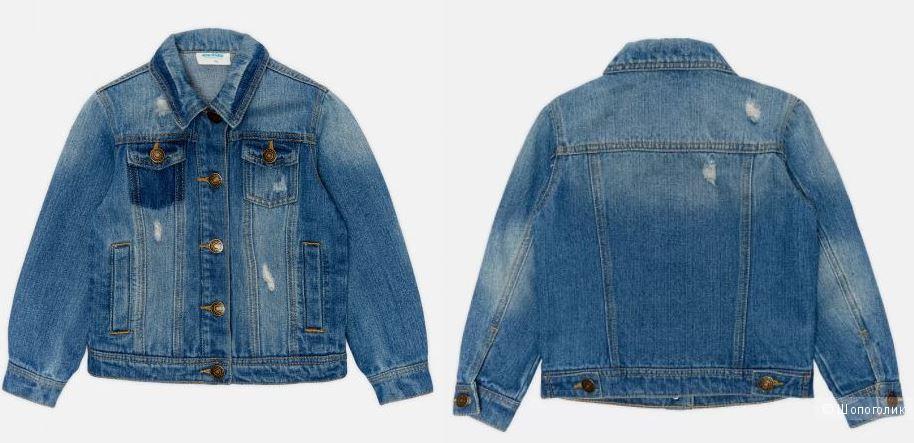 Джинсовая куртка р.170