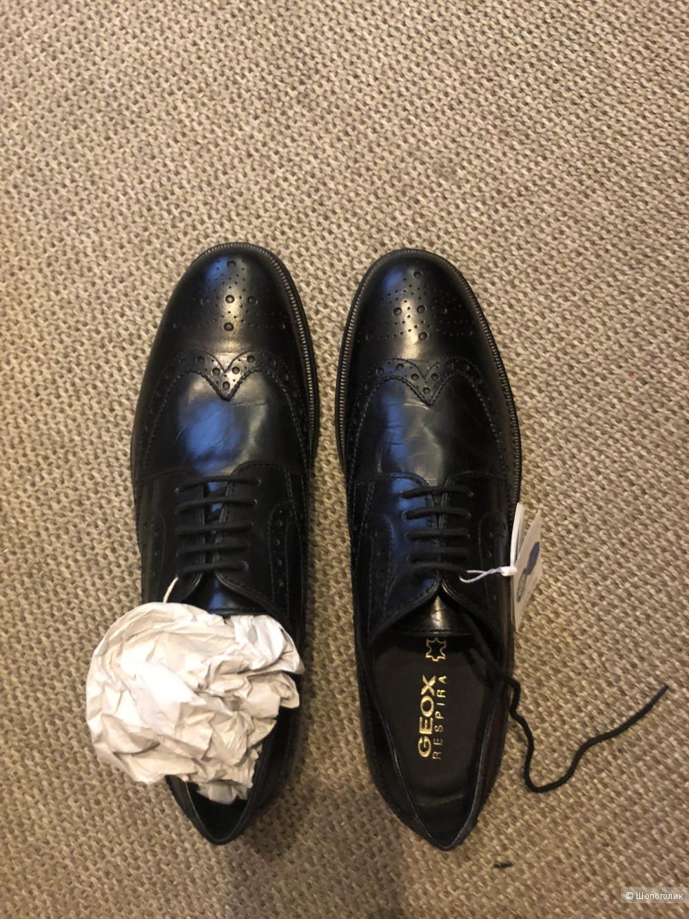 Новые ботинки geox 45 размер