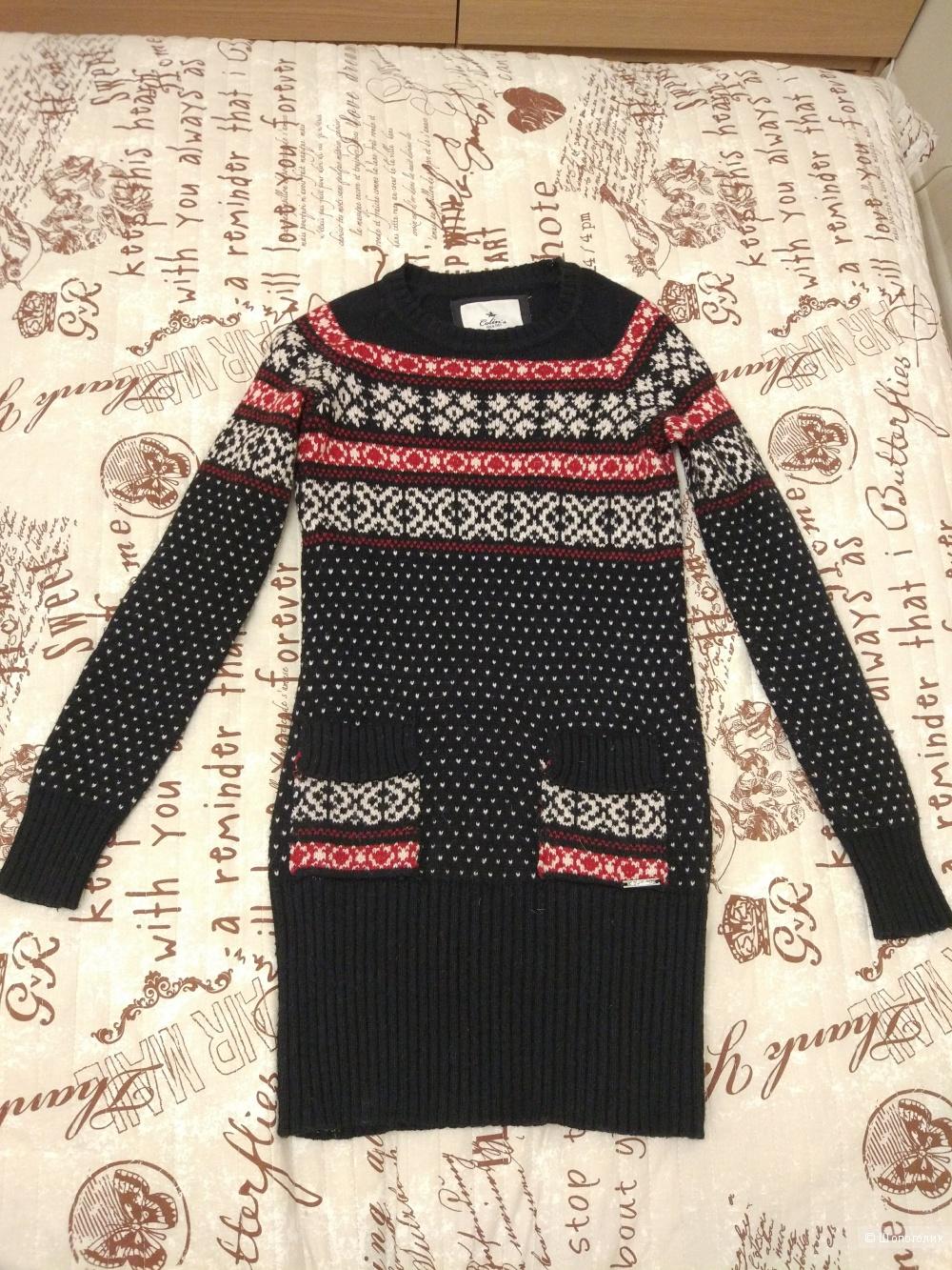 Свитер-платье Colins размер XS-S