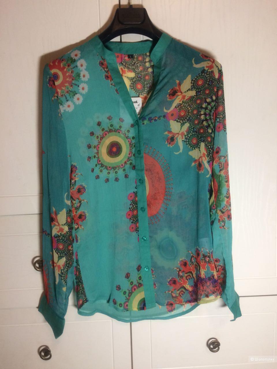 Блузка -рубашка Desigual, размер L