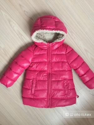 Куртка зимняя Benetton для девочки, размер 100