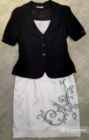Сет из платья и пиджака, размер 44 RU