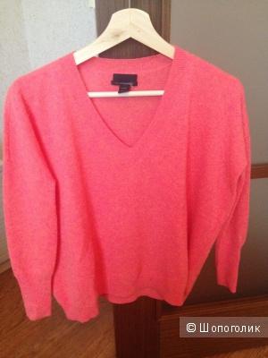 Кашемировый свитер от Jcrew на 40-42( Xs)