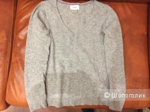 Кашемировый джемпер La redoute Soft grey размер 34/36