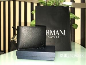 Мужской кошелек Armani Jeans, размер: 13 см х 9,5 см