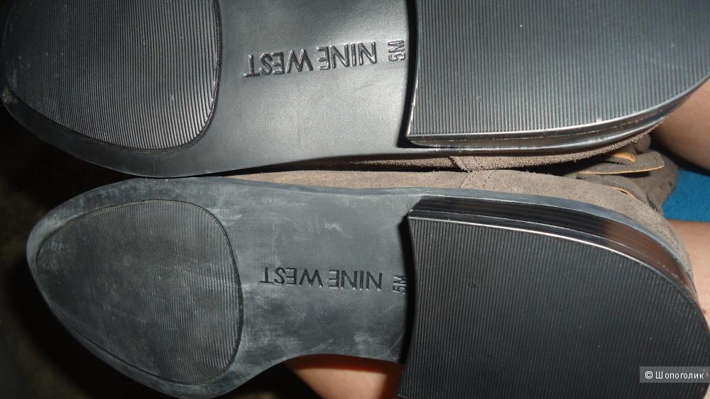 Сапоги демисезонные  Nine West 35 размер.