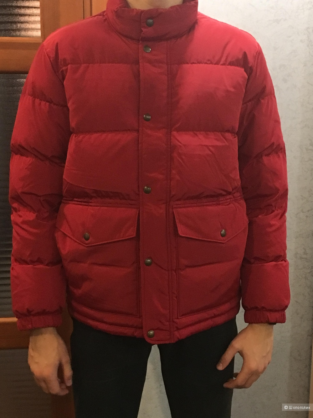 Мужской пуховик Men's 600 Down Jacket, размер М. На рос. 48-50