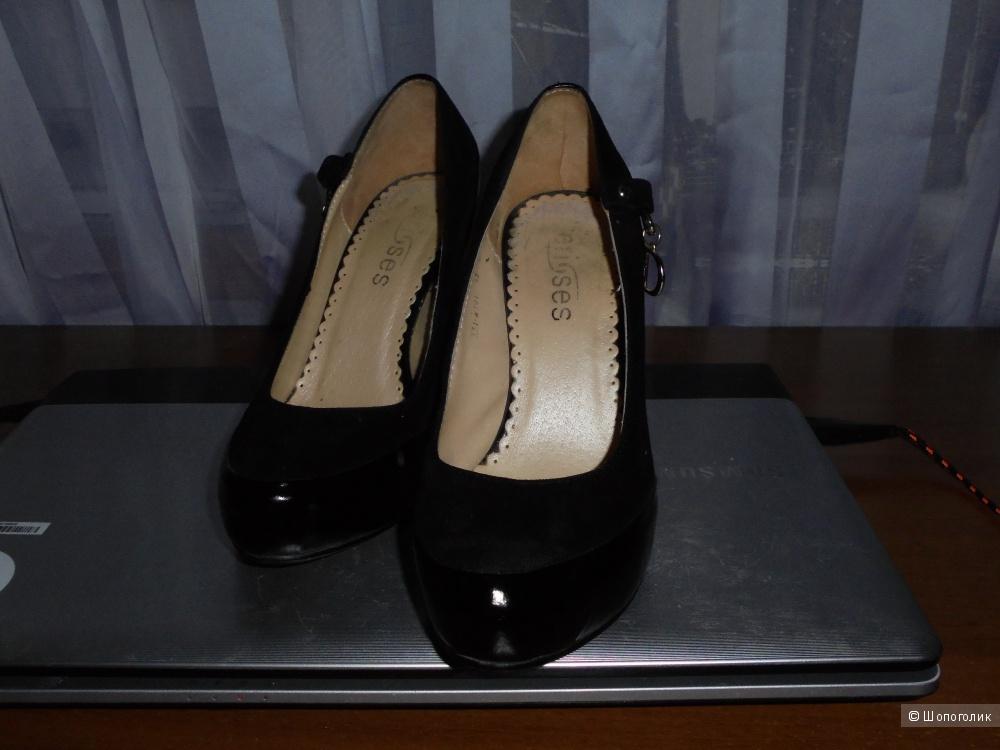 Туфли ноу-нейм, 34 размер