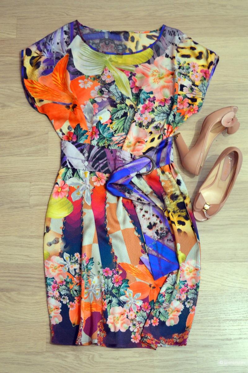 Платье ,ELISA FANTI , размер 46-48.