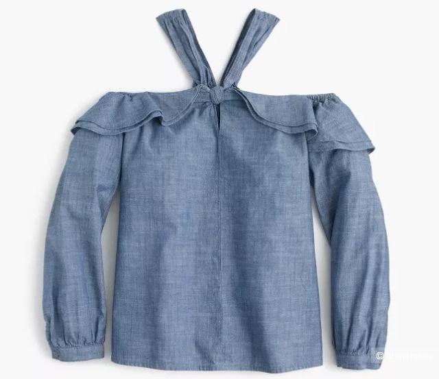 Топ -блузка от Jcrew на s -m