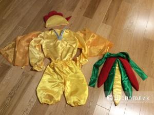 """Карнавальный костюм """"Петушок» для ребёнка р. 116-130"""